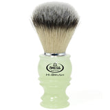 Omega HI-BRUSH Fiber Shaving Brush – PHOSPHORESCENT – Glow in the Dark - 46800