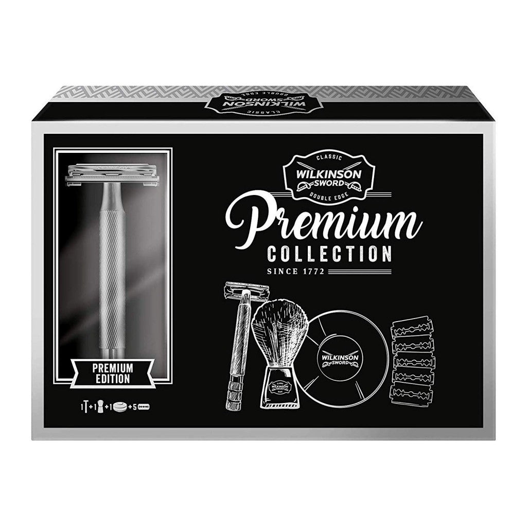 Wilkinson Sword Premium Classic Gift Set - Cyril R. Salter | Trade Suppliers of Gentlemen's Grooming Products