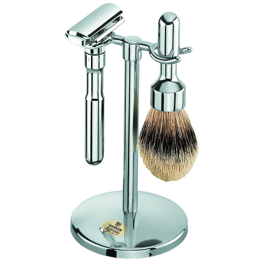 Merkur FUTUR 3-Piece Satin Shaving Set 781 001 - Cyril R. Salter