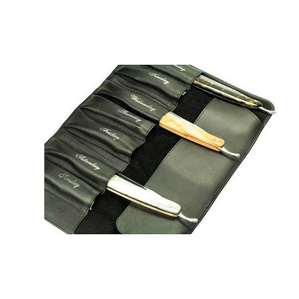 Giesen & Forsthoff 7 Day Straight Razor Case - Cyril R. Salter