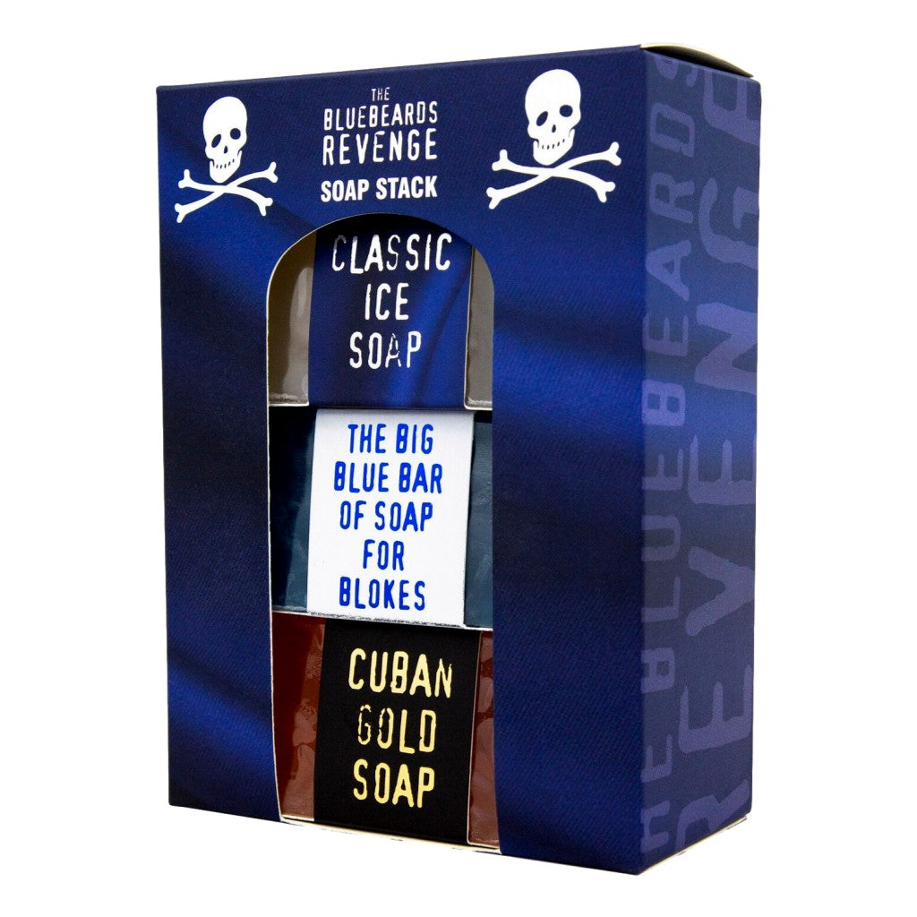 The Bluebeards Revenge Soap Stack Kit - Cyril R. Salter | Trade Suppliers of Gentlemen's Grooming Products