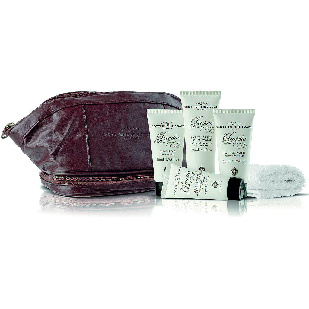 The Scottish Fine Soap Company Gentleman's Travel Bag - Cyril R. Salter