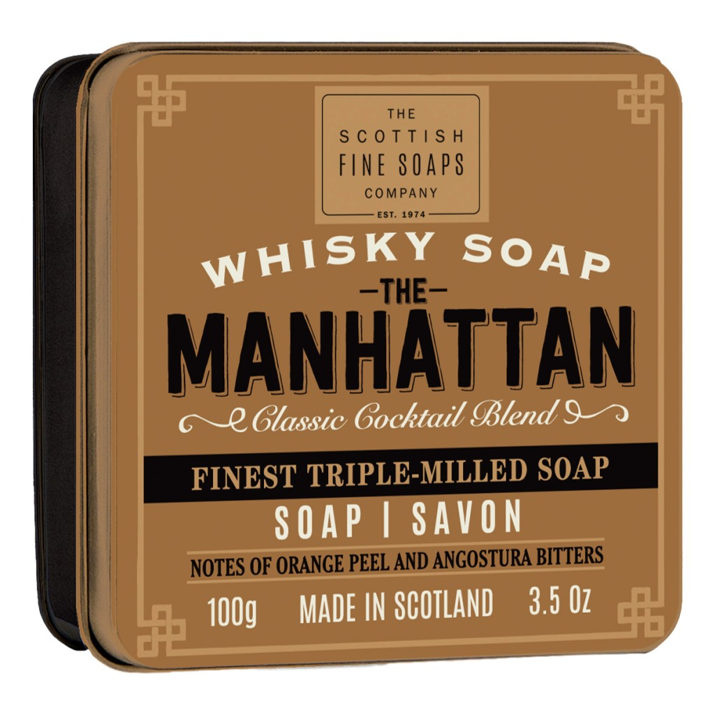 The Scottish Fine Soaps Company Soap In A Tin – The Manhattan 100g - Cyril R. Salter