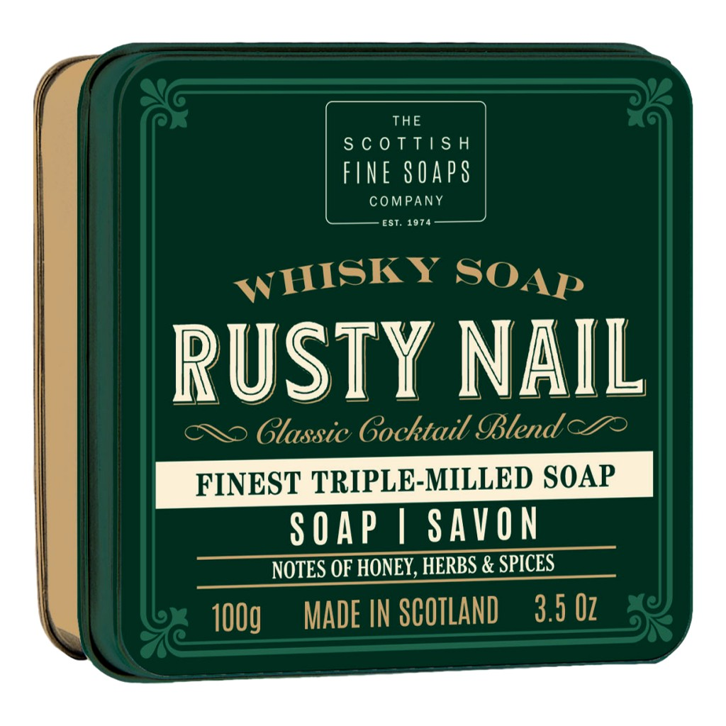 The Scottish Fine Soaps Company Soap In A Tin – Rusty Nail 100g - Cyril R. Salter