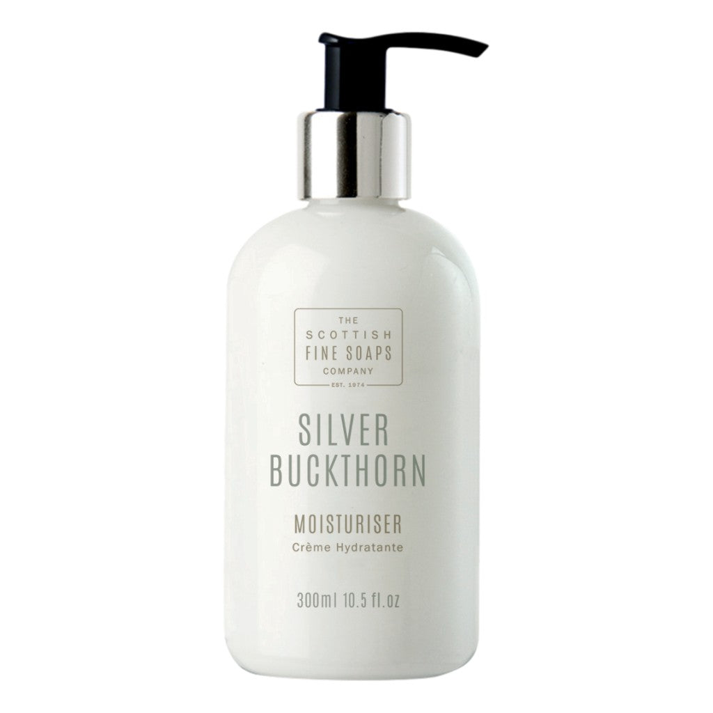 The Scottish Fine Soaps Company Silver Buckthorn Moisturiser 300ml - Cyril R. Salter