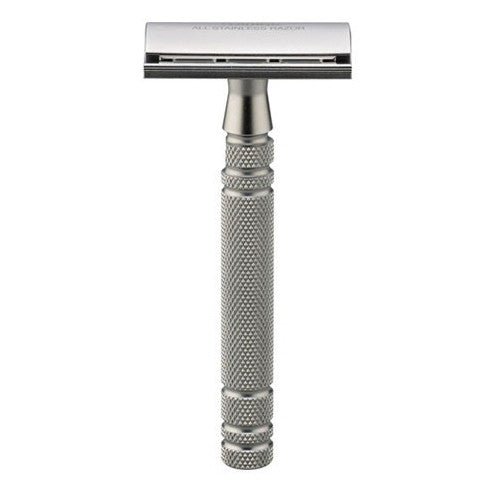 Feather All Stainless Safety Razor
