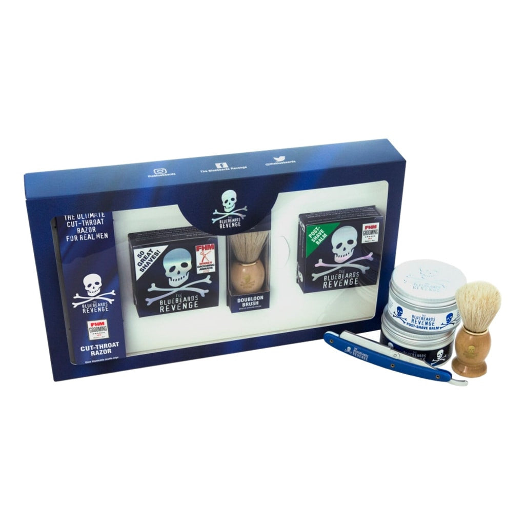 The Bluebeards Revenge 'Cut Throat' Razor Kit (Gift Boxed)