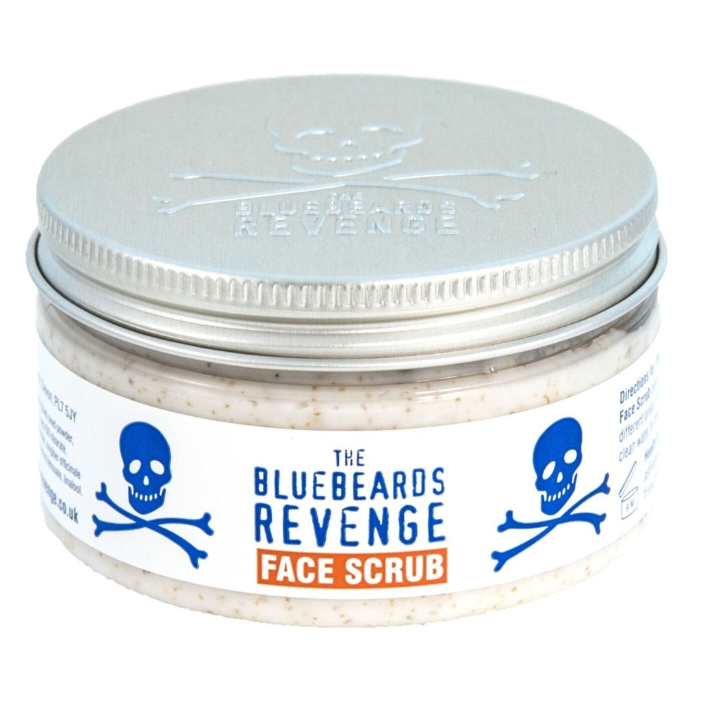 The Bluebeards Revenge Face Scrub 100ml - Cyril R. Salter | Trade Suppliers of Luxury Grooming Products