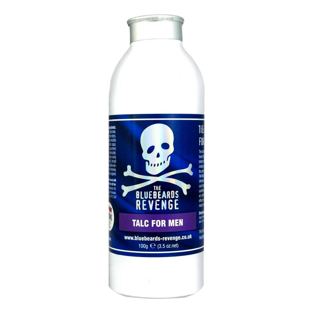 The Bluebeards Revenge Talc For Men 100g - Cyril R. Salter Cyril R. Salter | Trade Suppliers of Luxury Grooming Products