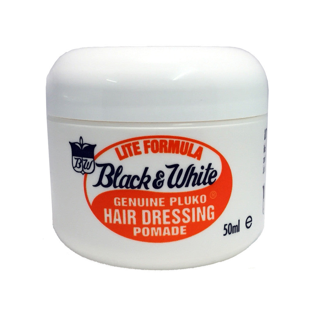 Black & White Hair Dressing Pomade Lite 50ml - Cyril R. Salter