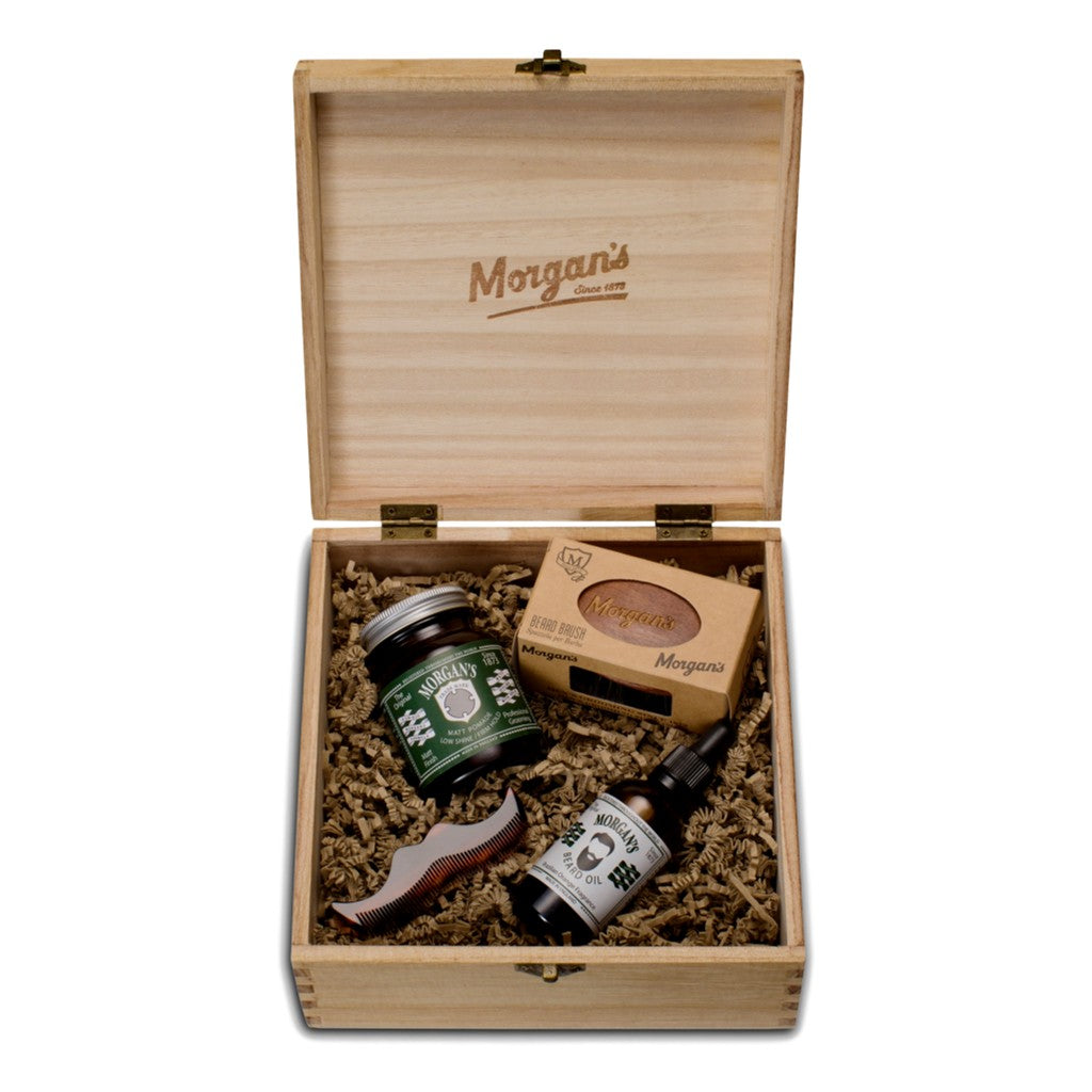 Morgan's Brazilian Orange Box - Cyril R. Salter | Trade Suppliers of Gentlemen's Grooming Products