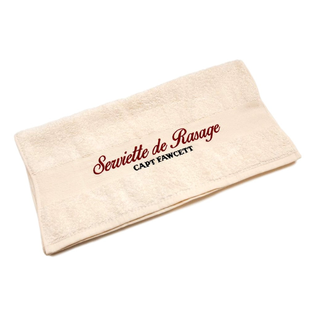 Captain Fawcett's Luxurious Shave Towel