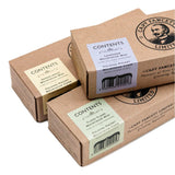Captain Fawcett's Expedition Strength Moustache Wax & Folding Pocket Moustache Comb (CF.87T)