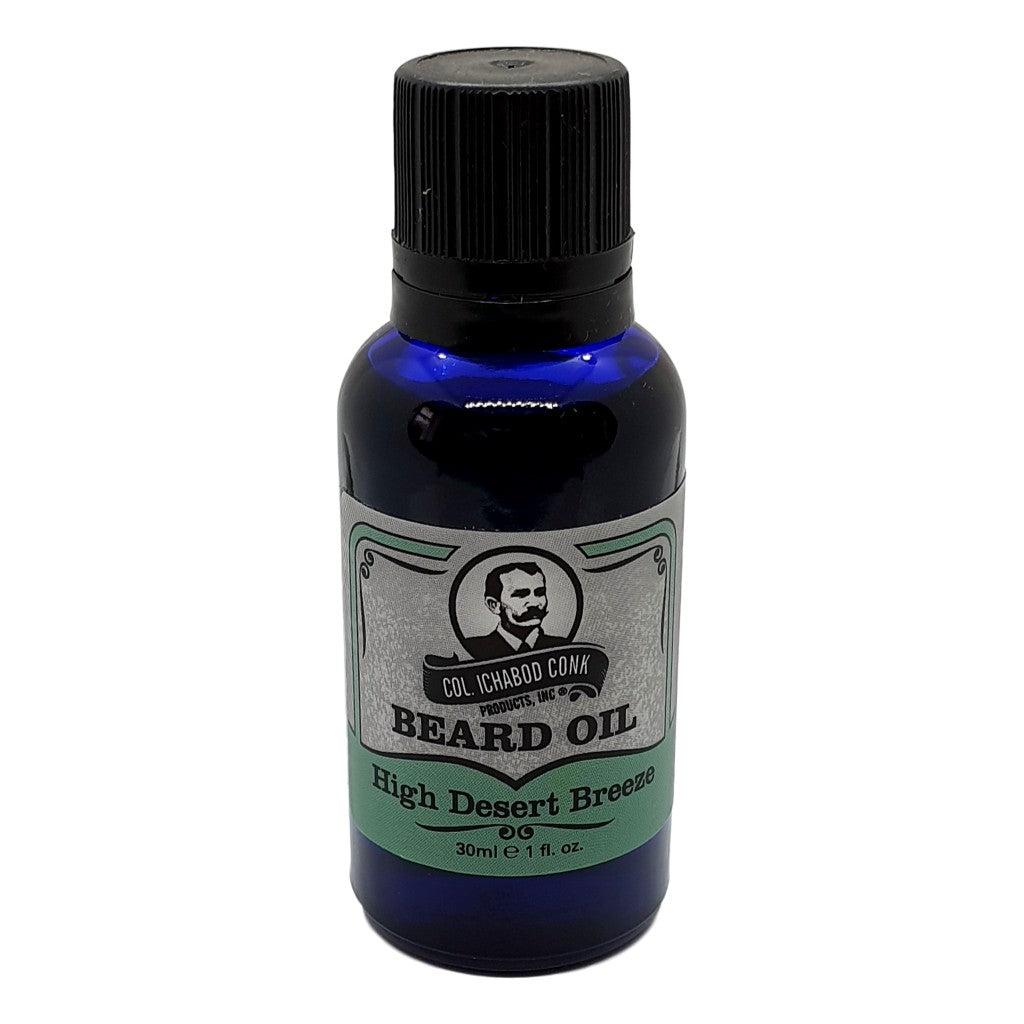 Colonel Conk's Natural Beard Oil - High Desert Breeze 30ml - Cyril R. Salter | Trade Suppliers of Gentlemen's Grooming Products