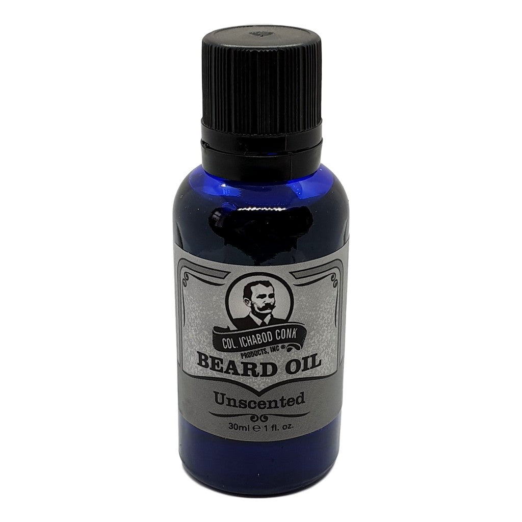 Colonel Conk's Natural Beard Oil - Unscented 30ml - Cyril R. Salter | Trade Suppliers of Gentlemen's Grooming Products