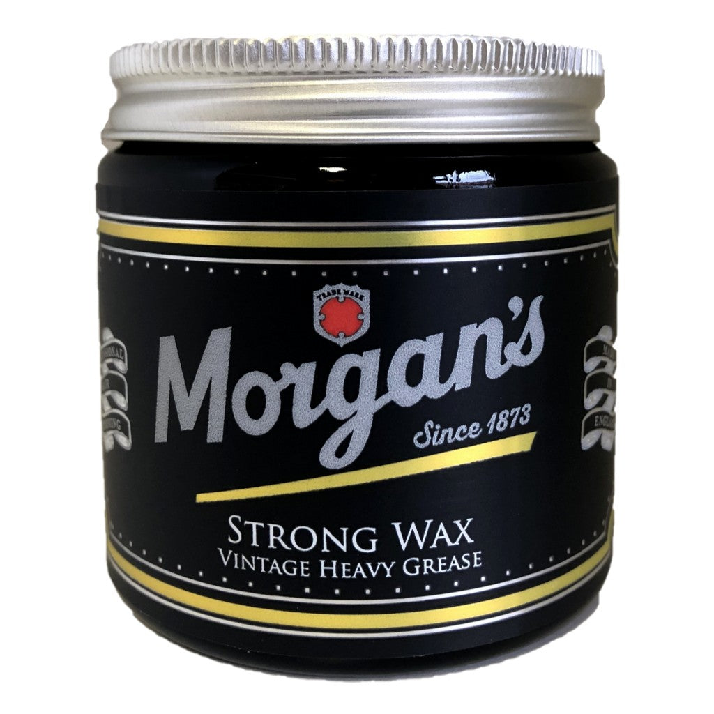 Morgan's Strong Wax 120ml Jar - Cyril R. Salter | Trade Suppliers of Gentlemen's Grooming Products