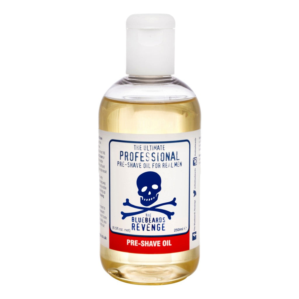 The Bluebeards Revenge Professional Range Pre-Shave Oil 250ml - Cyril R. Salter Cyril R. Salter | Trade Suppliers of Gentlemen's Grooming Products