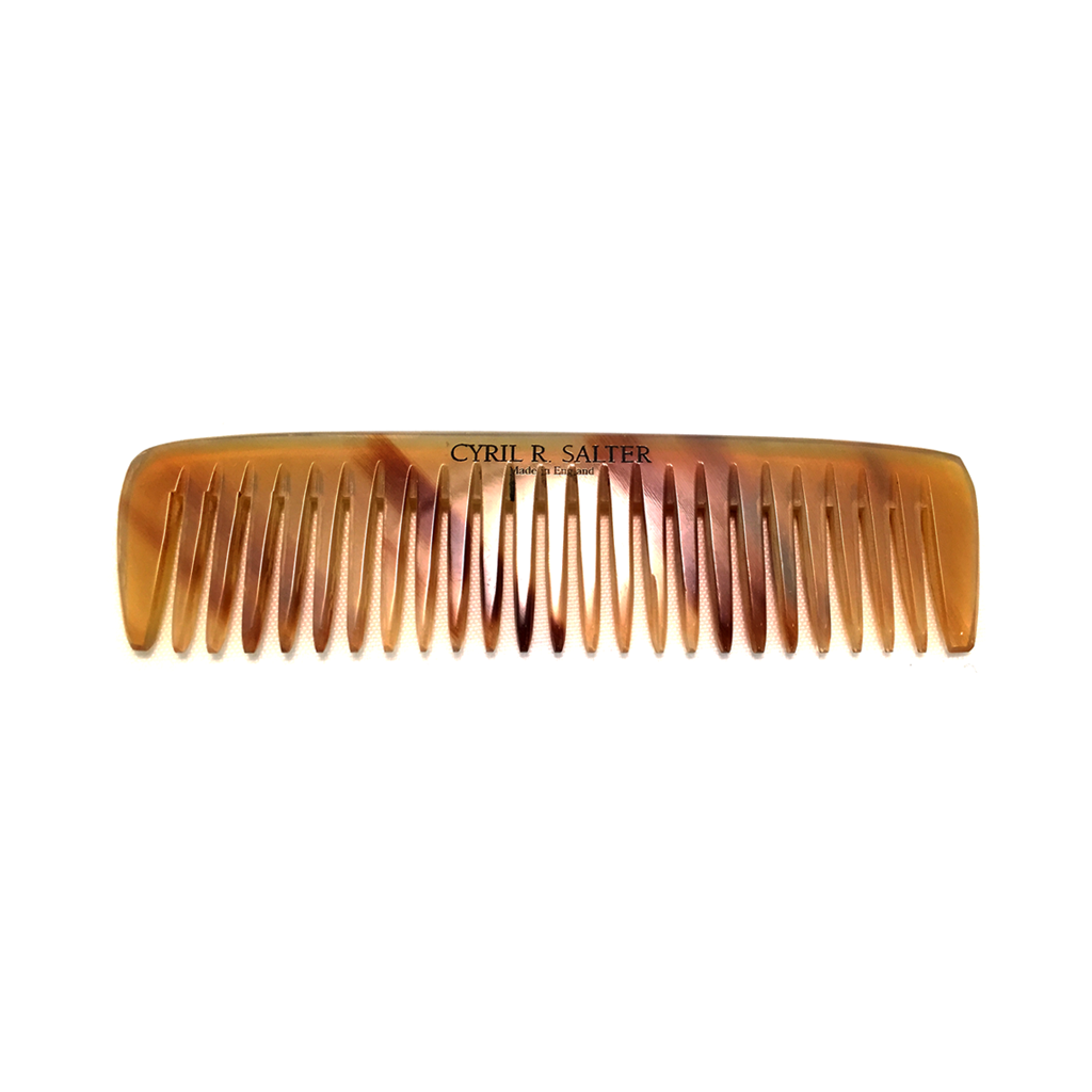 Cyril R. Salter Genuine Oxhorn Pocket Comb 9cm