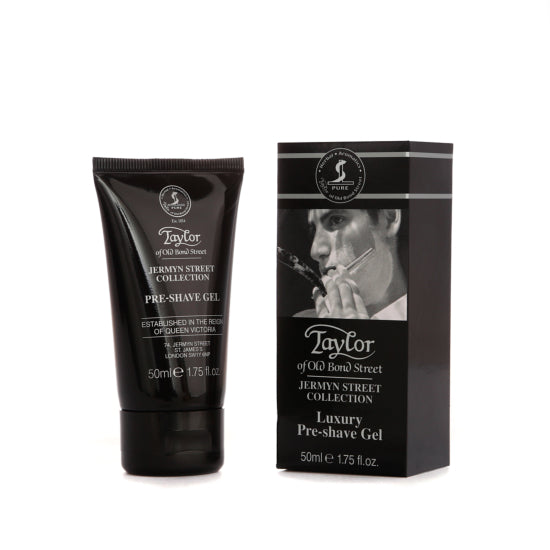 Taylor of Old Bond Street Jermyn Street Collection Pre-Shave Gel 50ml - Cyril R. Salter
