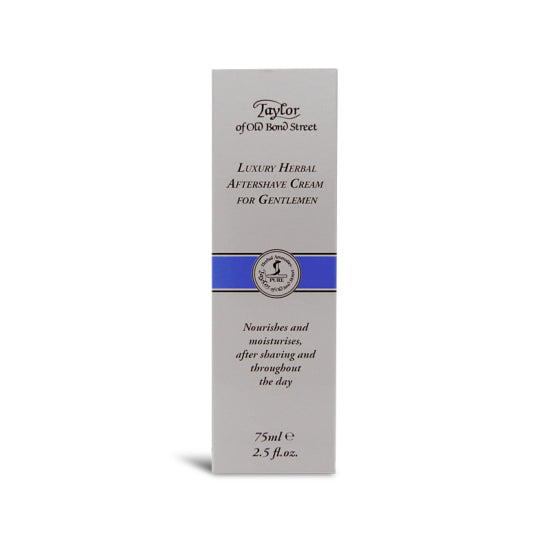 Taylor of Old Bond Street Herbal Aftershave Cream 75ml - Cyril R. Salter