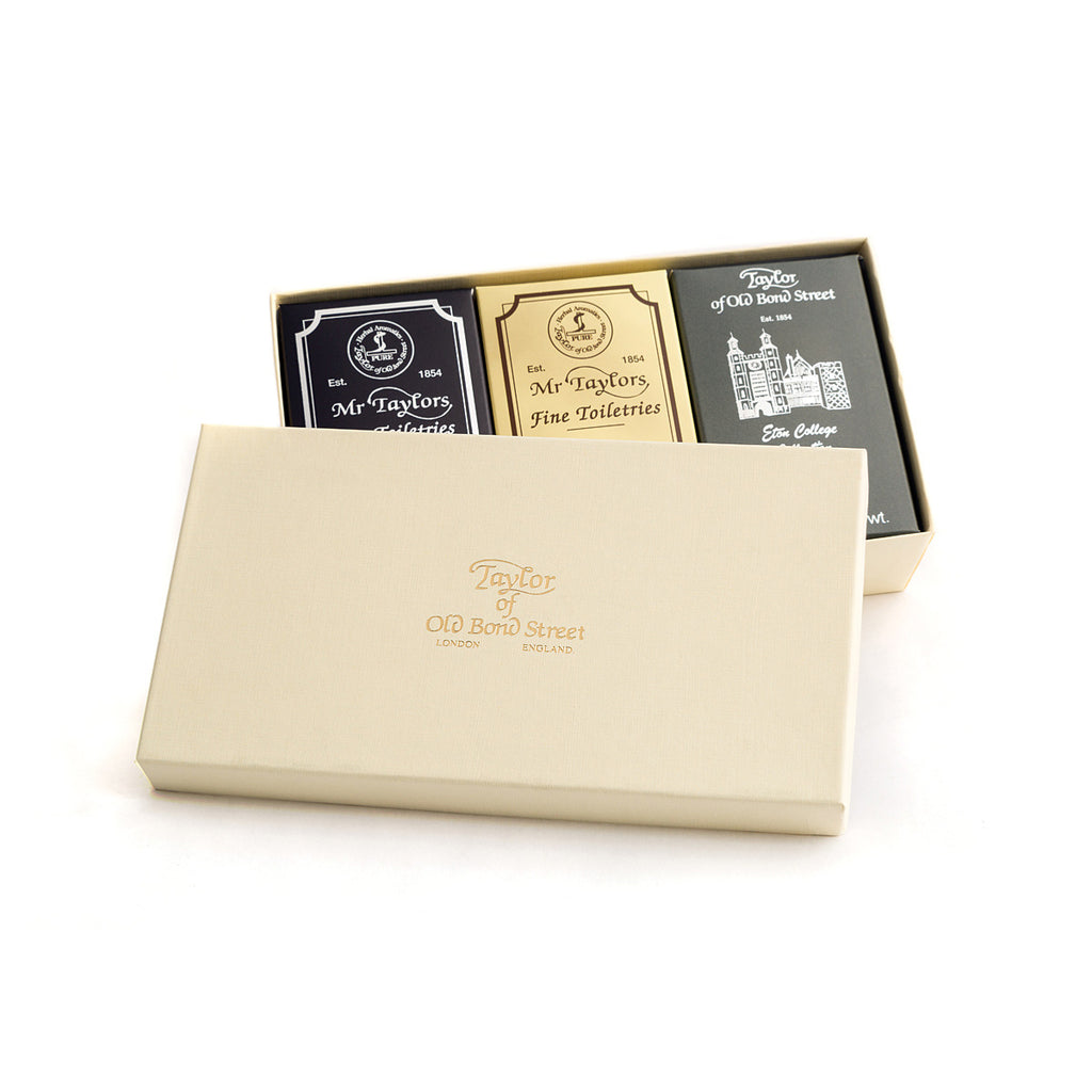 Taylor of Old Bond Street Mixed Bath Soap Gift Box - Cyril R. Salter