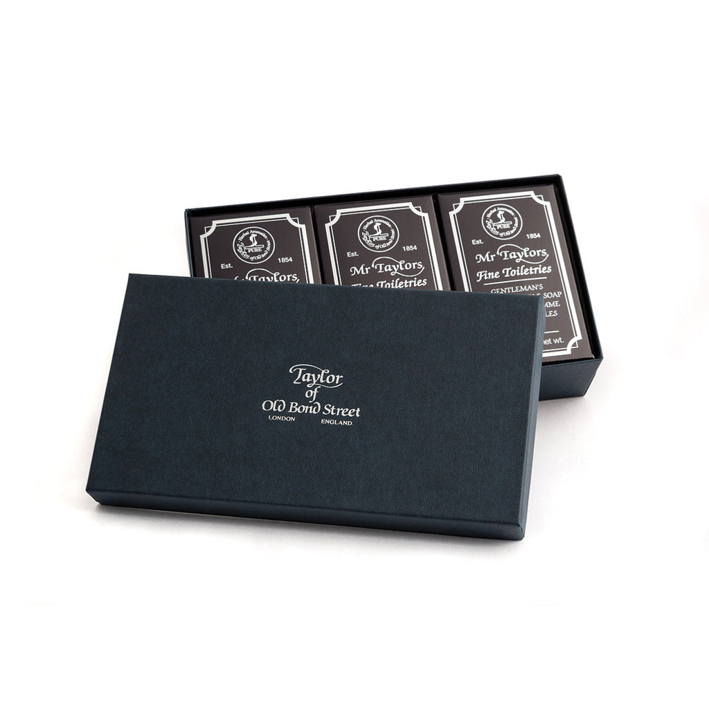 Taylor of Old Bond Street Mr Taylor Bath Soap Gift Box - Cyril R. Salter