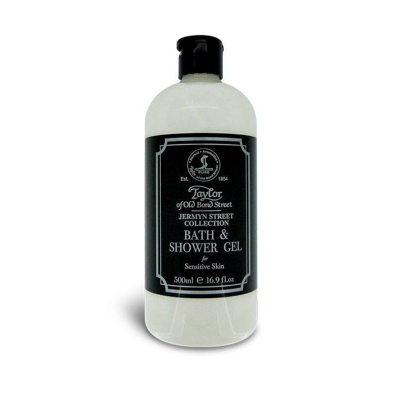 Taylor of Old Bond Street Jermyn Street Collection Bath and Shower Gel 500ml - Cyril R. Salter