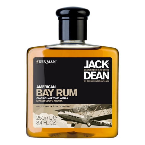 Jack Dean Bay Rum 250ml - Cyril R. Salter