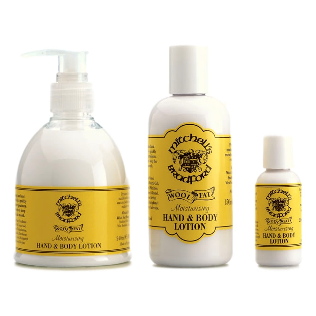 Mitchell's Hand & Body Lotion - Cyril R. Salter | Trade Suppliers of Gentlemen's Grooming Products