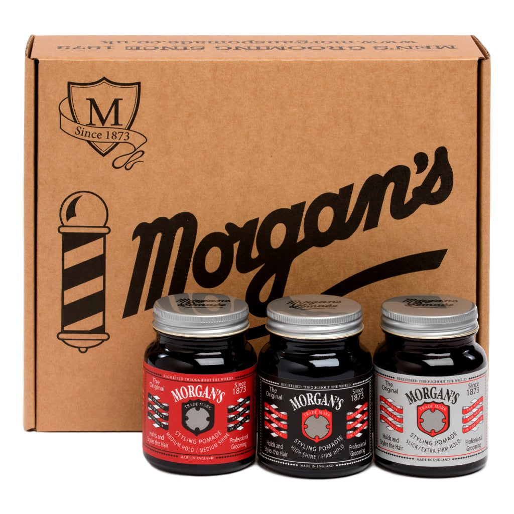 Morgan's Pomade Gift Box - Cyril R. Salter