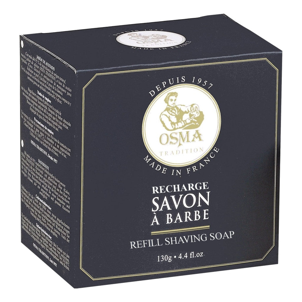 Osma Shaving Soap Refill 130g - Cyril R. Salter | Trade Suppliers of Luxury Grooming Products