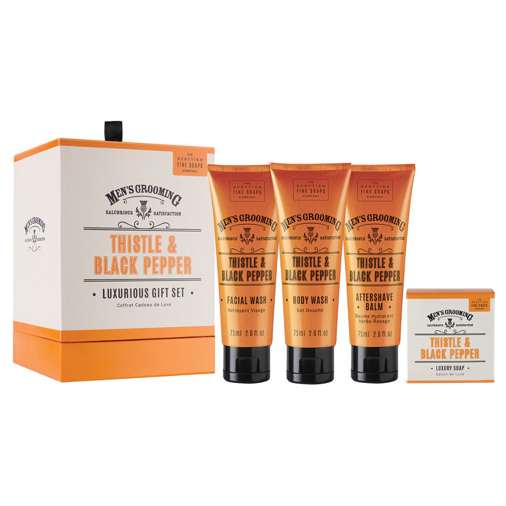 The Scottish Fine Soaps Company Men's Grooming Luxurious Gift Set - Cyril R. Salter