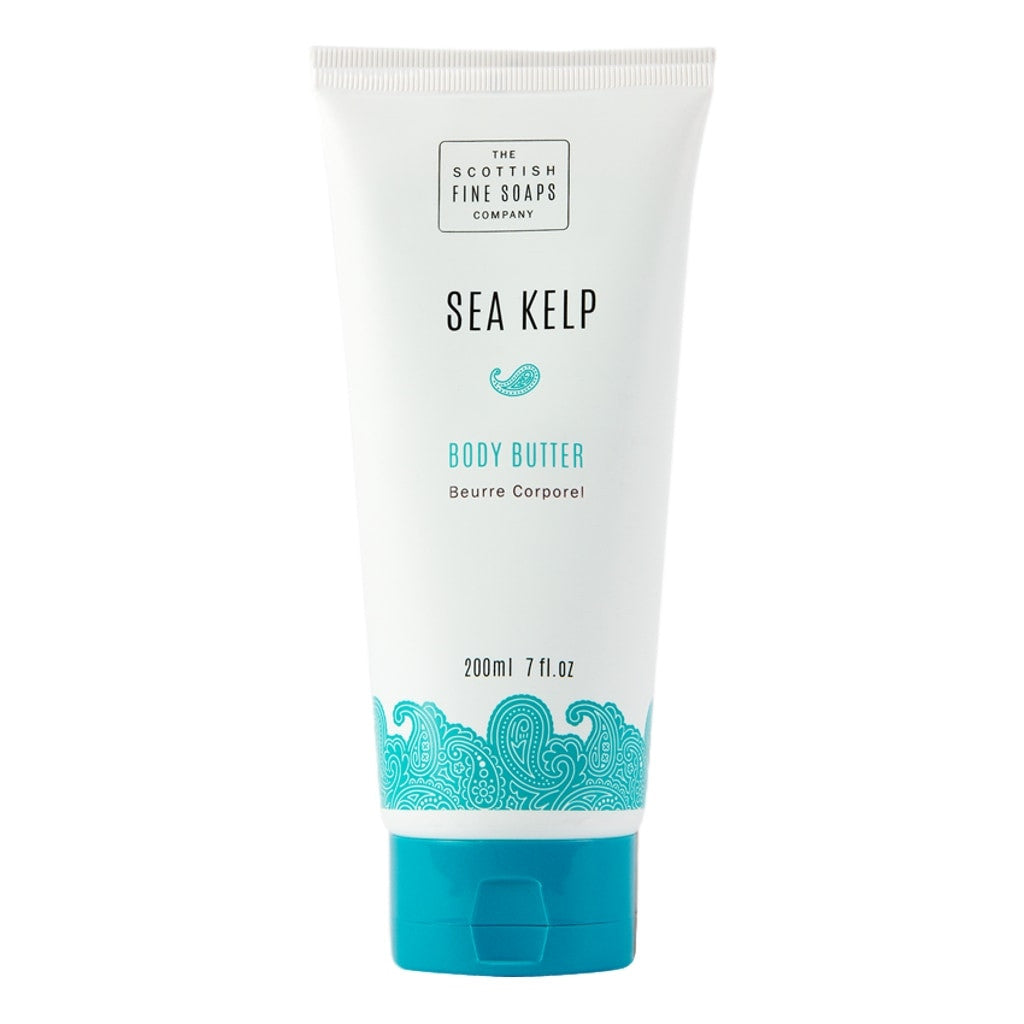 The Scottish Fine Soaps Company Sea Kelp Body Butter Tube 200ml - Cyril R. Salter | Trade Suppliers of Luxury Grooming Products