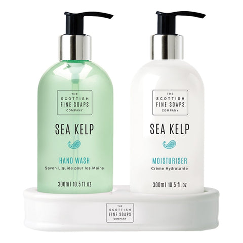 The Scottish Fine Soaps Company Sea Kelp Hand Care Set 2x300ml - Cyril R. Salter | Trade Suppliers of Luxury Grooming Products