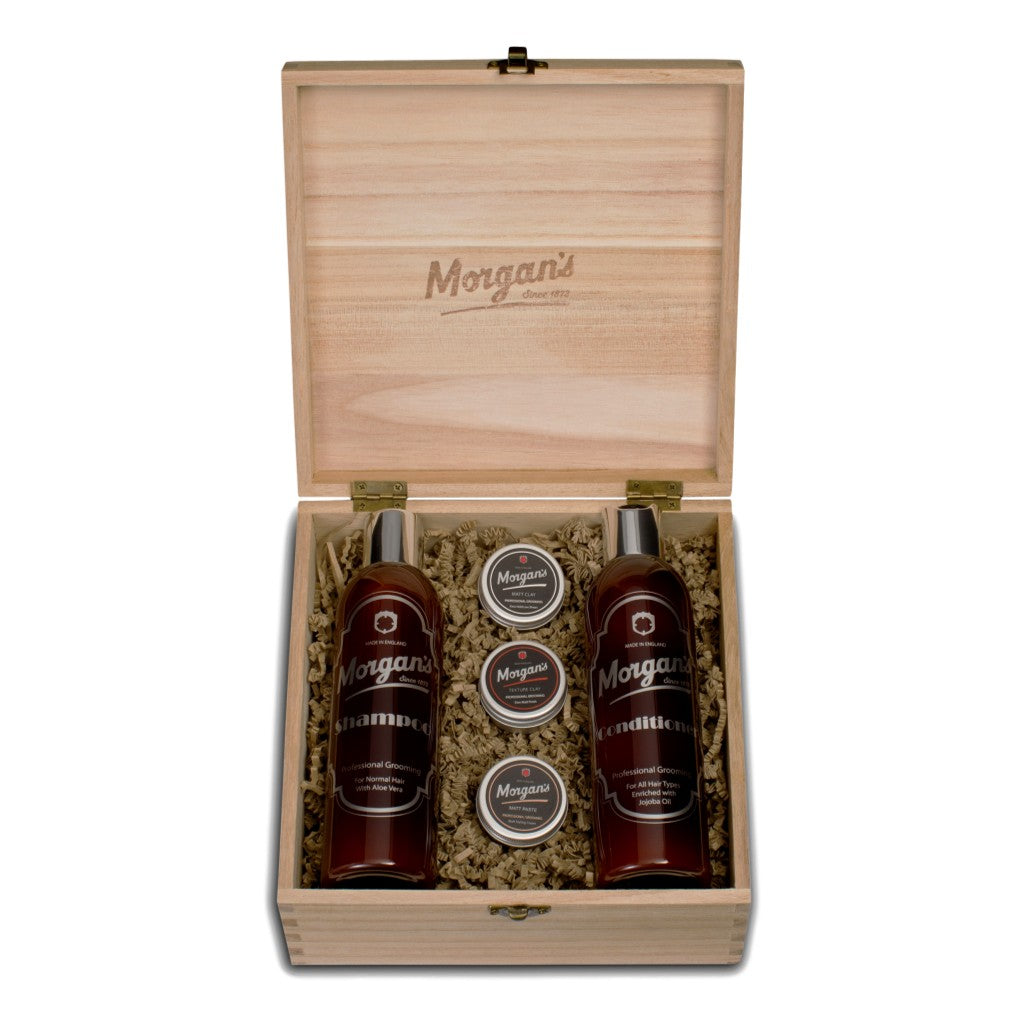Morgan's Shampoo & Style Box - Cyril R. Salter | Trade Suppliers of Gentlemen's Grooming Products