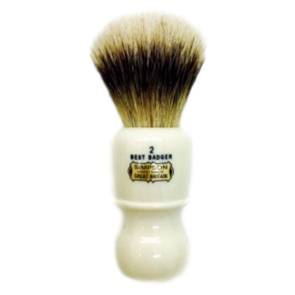 Simpsons 'The Captain 2' Shaving Brush - Cyril R. Salter | Trade Suppliers of Luxury Grooming Products