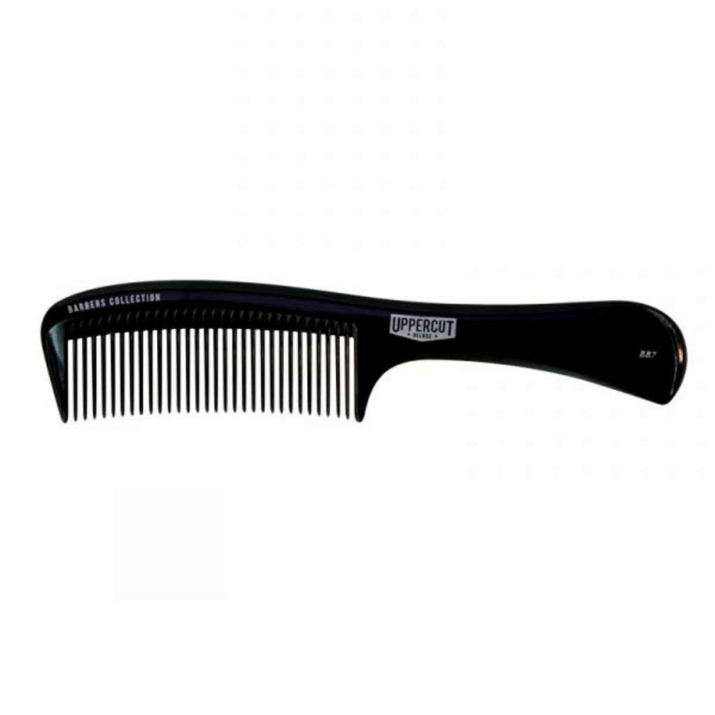Uppercut Deluxe BB7 Black Styling Comb - Cyril R. Salter | Trade Suppliers of Gentlemen's Grooming Products