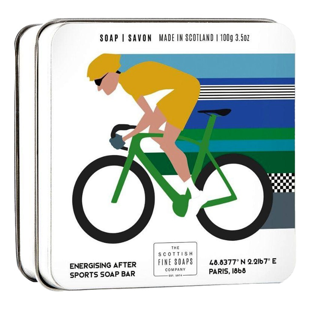 The Scottish Fine Soaps Company Sports Soap - Cycling 100g Tin