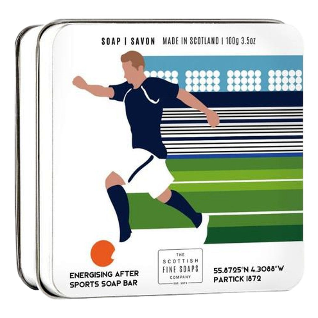 The Scottish Fine Soaps Company Sports Soap - Football 100g Tin