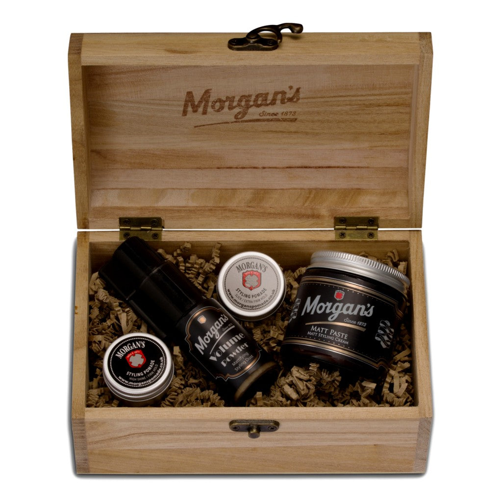 Morgan's Volume & Style Chest - Cyril R. Salter | Trade Suppliers of Gentlemen's Grooming Products