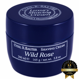 Cyril R. Salter Wild Rose Shaving Cream 165g