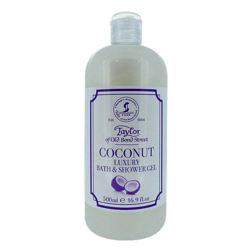Taylor of Old Bond Street Coconut Bath and Shower Gel 500ml