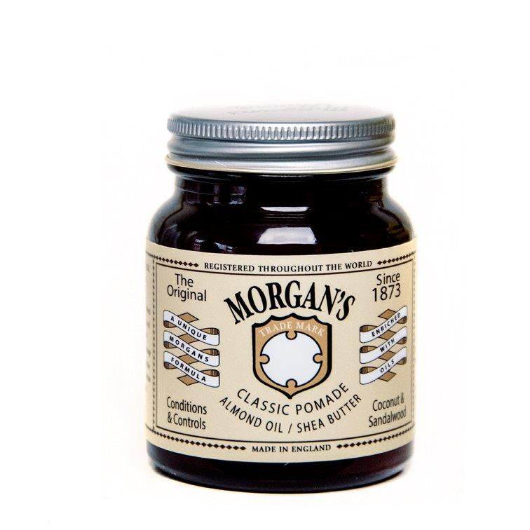 Morgan's Classic Pomade with Almond Oil and Shea Butter - Cyril R. Salter