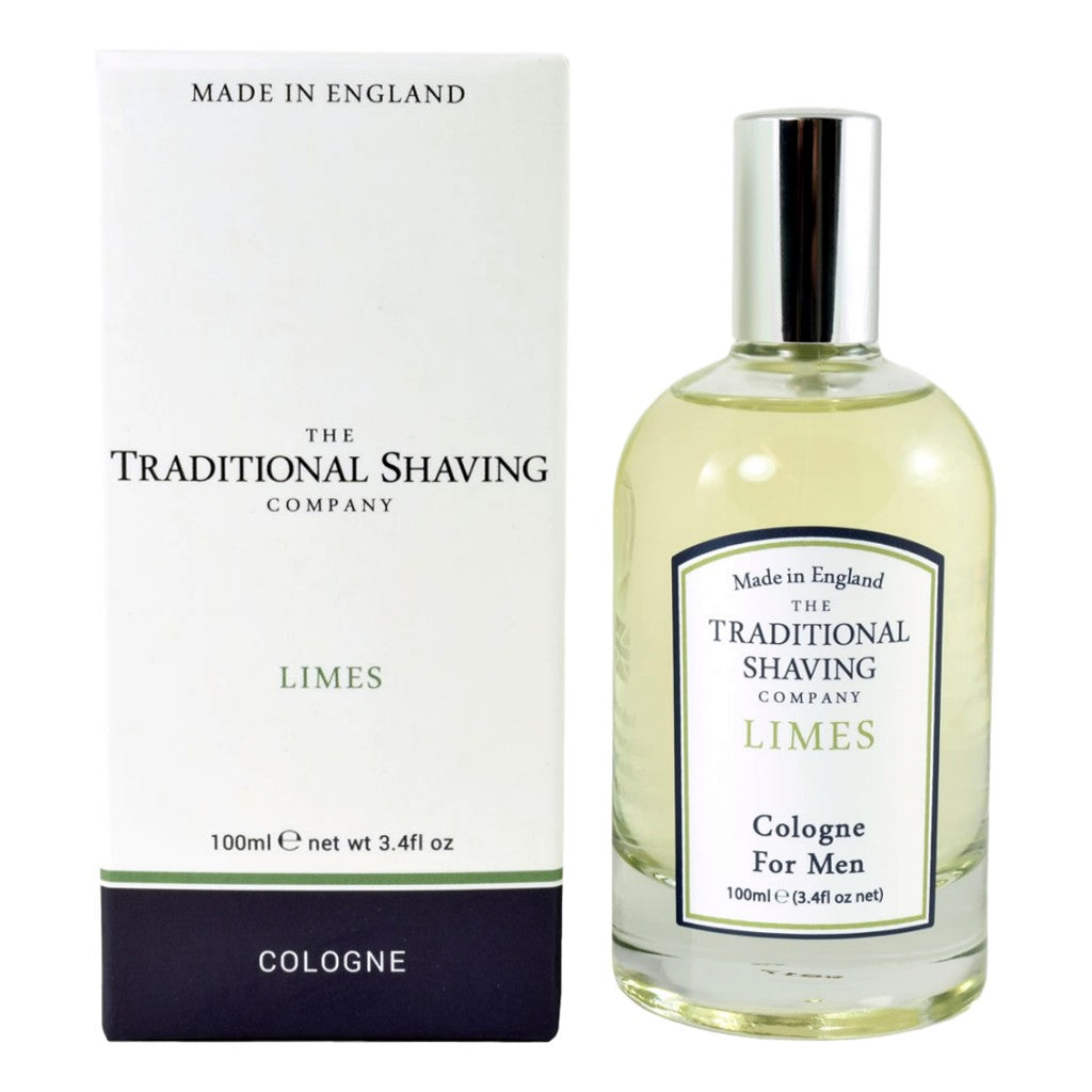 The Traditional Shaving Company Limes Cologne 100ml - Cyril R. Salter | Trade Suppliers of Gentlemen's Grooming Products