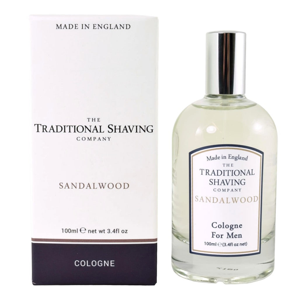 The Traditional Shaving Company Sandalwood Cologne 100ml - Cyril R. Salter | Trade Suppliers of Gentlemen's Grooming Products