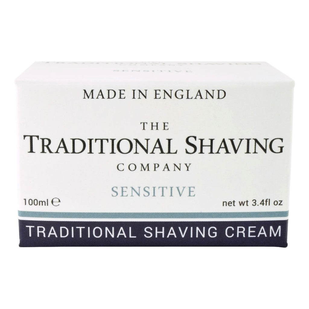 The Traditional Shaving Company Sensitive Shaving Cream 100ml - Cyril R. Salter | Trade Suppliers of Gentlemen's Grooming Products