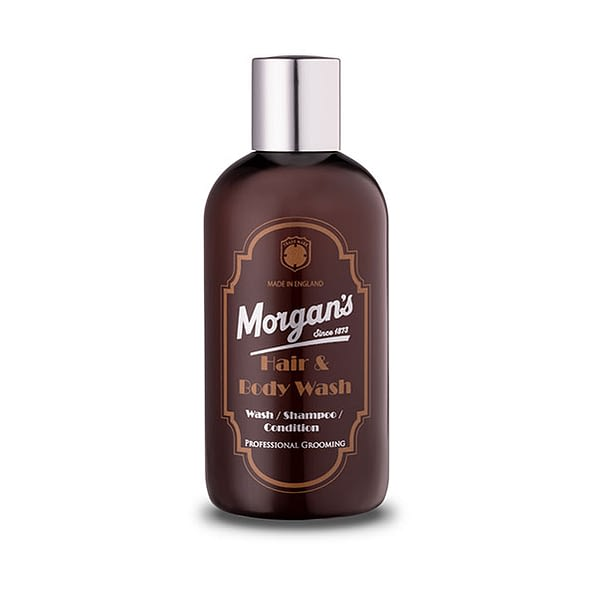 Morgans Hair & Body Wash 250ml - Cyril R. Salter | Trade Suppliers of Luxury Grooming Products