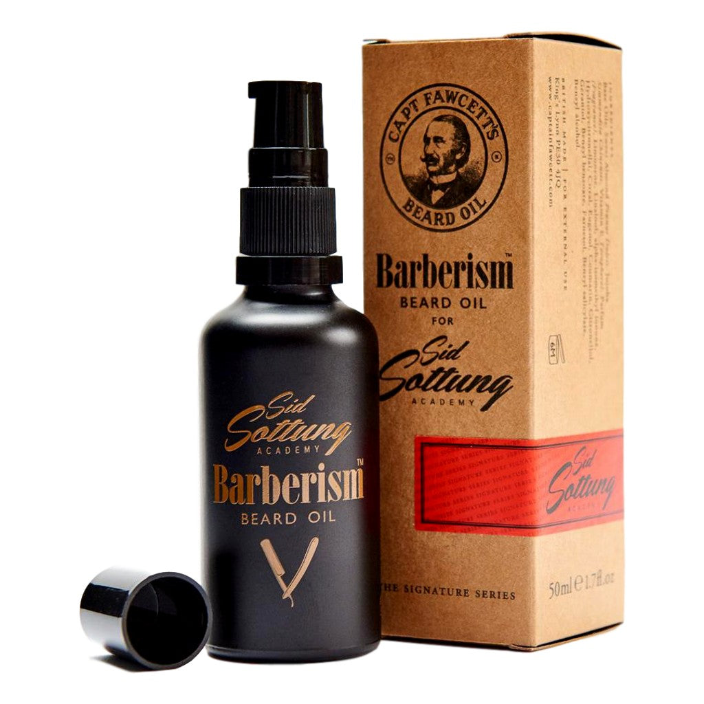 Captain Fawcett's Barberism™ Beard Oil 50ml