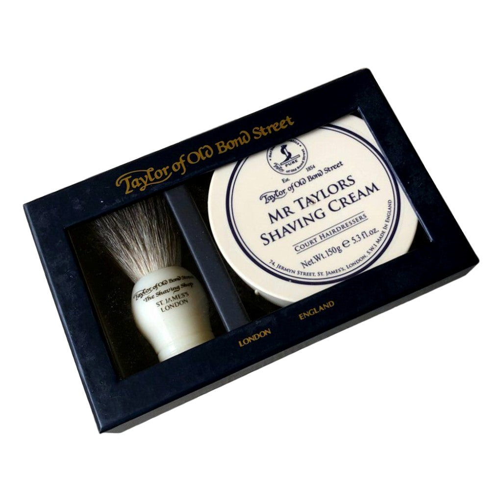 Taylor of Old Bond Street Pure Badger & Mr Taylor Gift Box