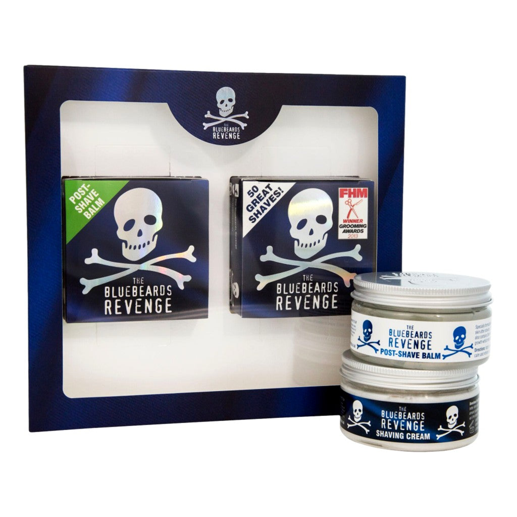 The Bluebeards Revenge Shaving Cream & Post-Shave Balm Kit - Cyril R. Salter